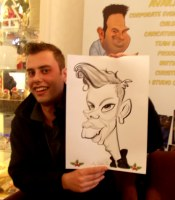 Caricature Hire Artists Corporate Manchester Liverpool